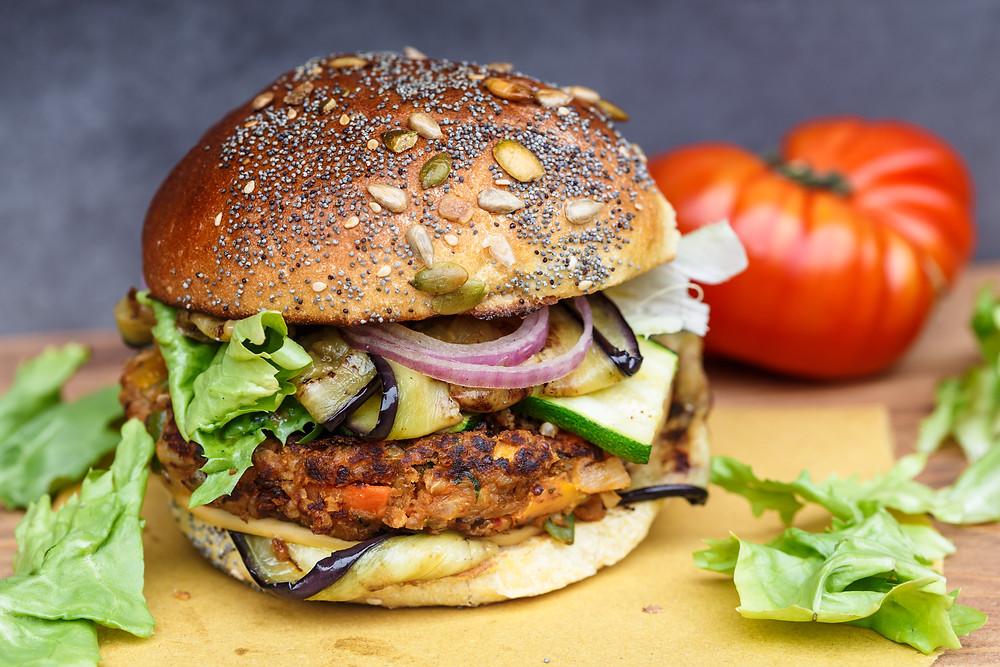 Veggie Burger Farmhouse Burger Company