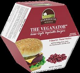 vegetable burger veganator