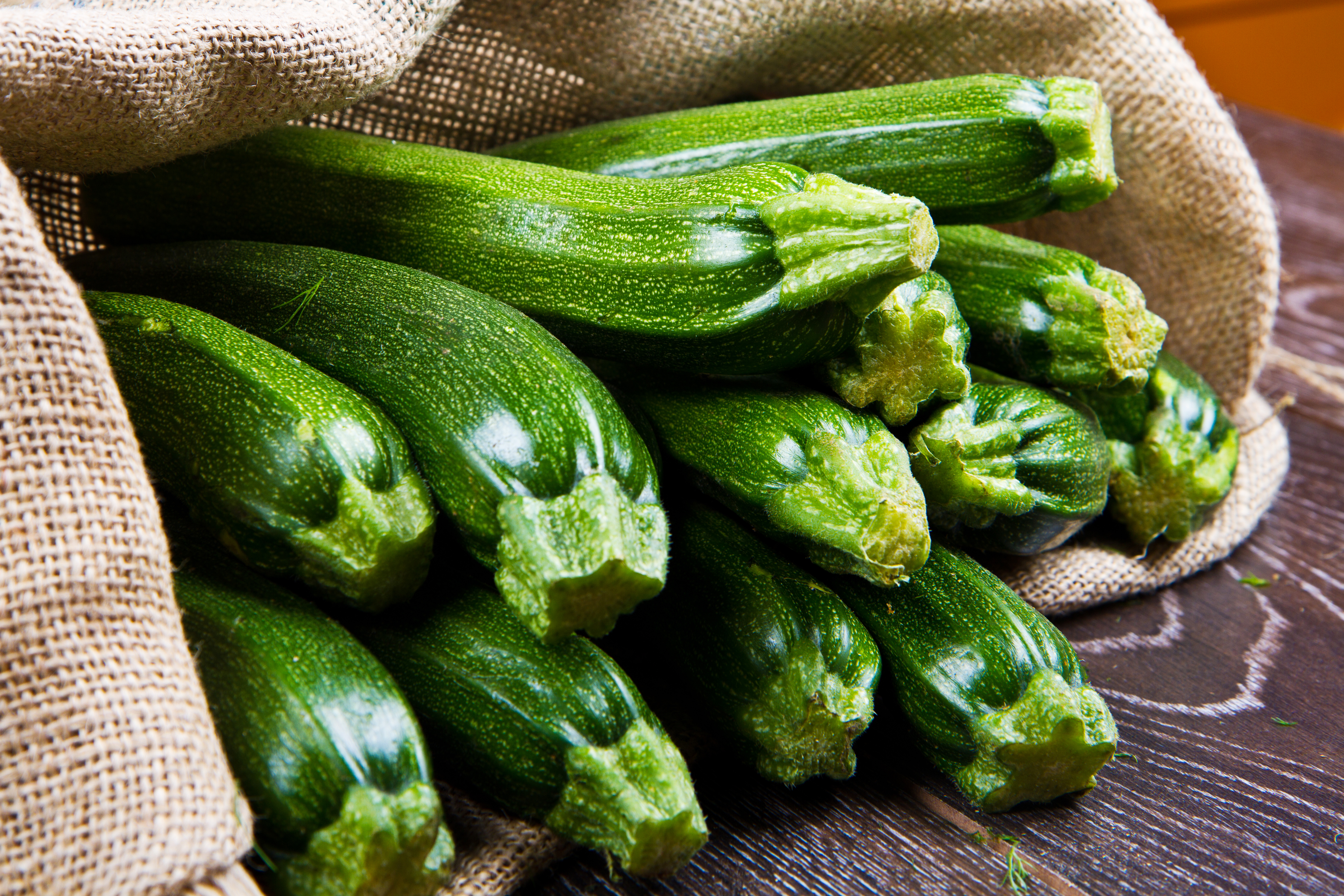 Veggie Burger Ingredient Zucchini