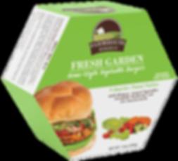 veggie burger fresh garen