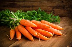 Veggie Burger Ingredient Carrot