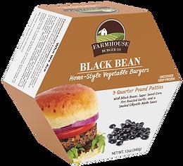 vegetable burger black bean