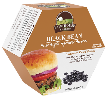 veggie burger black bean