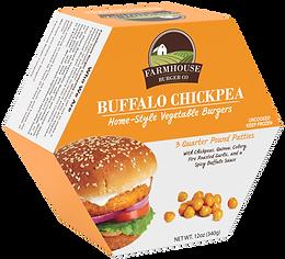 vegetable burger buffalo chickpea