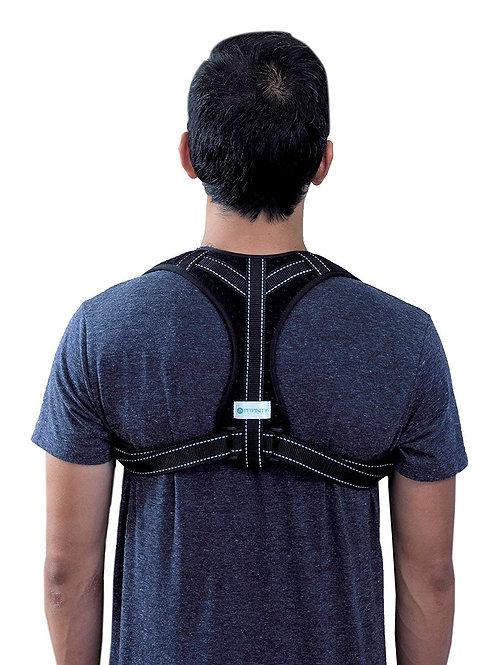 Corrector de postura de espalda para hombres y mujeres, mejora la postura de esp