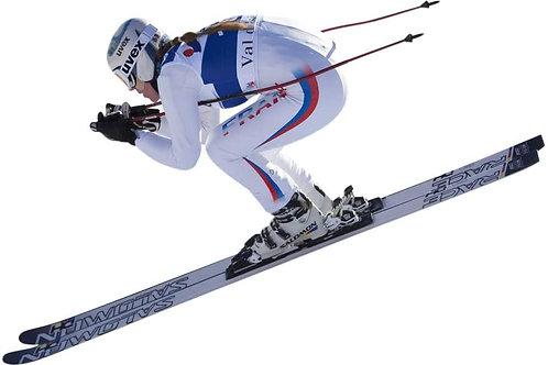 Ski Huggy Ski Back Brace – Premium Lower Back Support & Compression for Skiers &