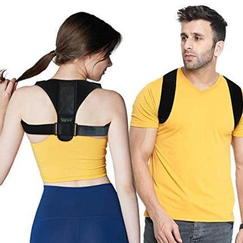 FY Posture Corrector for Men and Women + Underarm Pads - USA Designed Adjus