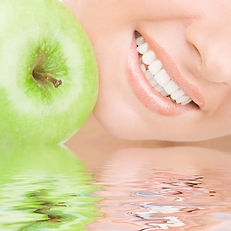 healthy teeth and apple smaller.jpg