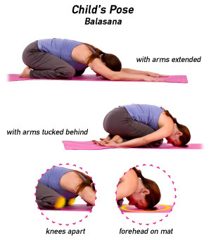 Restful Pose - Yin Yoga