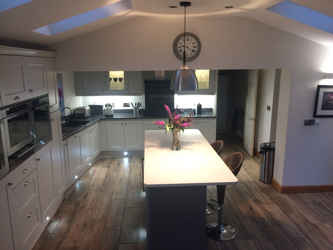 LIGHT GREY & DUST GREY KITCHEN SUPPLIED & FITTED 2018