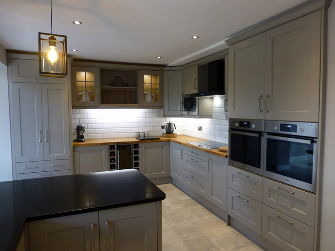 STONE GREY KITCHEN SUPPLIED & FITTED 2018