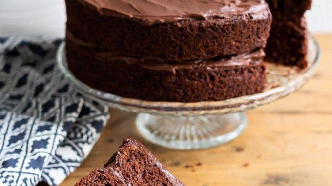 8 inch Chocolate Cake