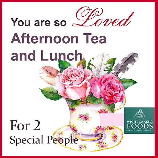 Special Afternoon Tea/Lunch for 2