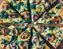 Vegan PIZZA - Fungo Verde (10 Inch) Sourdough