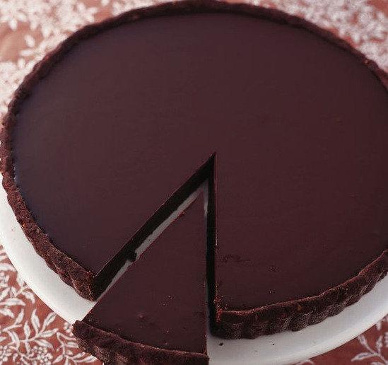 10 inch Belgium Chocolate Tart
