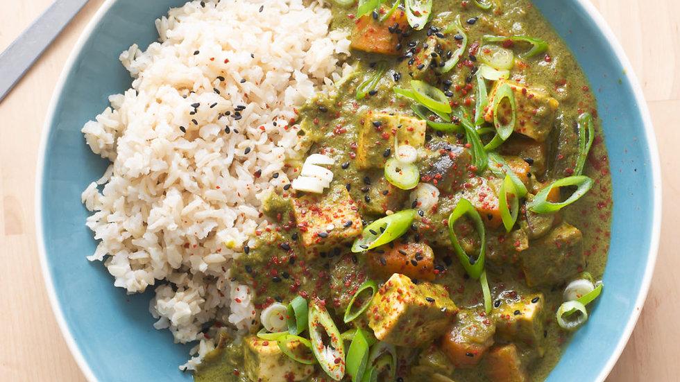 Thai Green Curry with Jasmine Rice