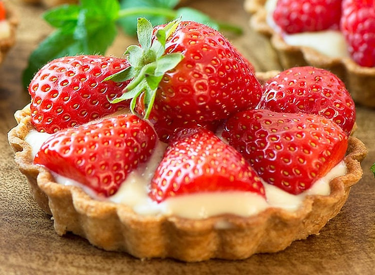 French Tartlet Selection box - 8.5 cm Tarts (6)
