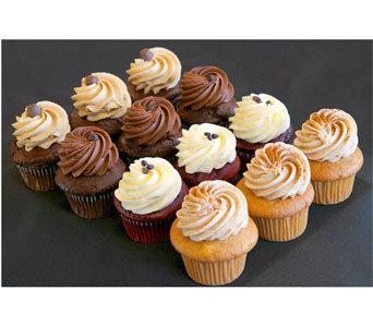 18 Buttercream Cupcakes Classic Mix