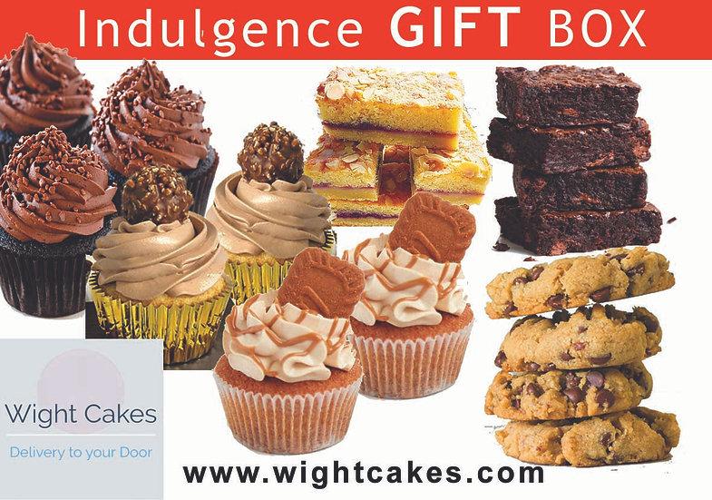 Indulgence Cakes GIFT Box with Card