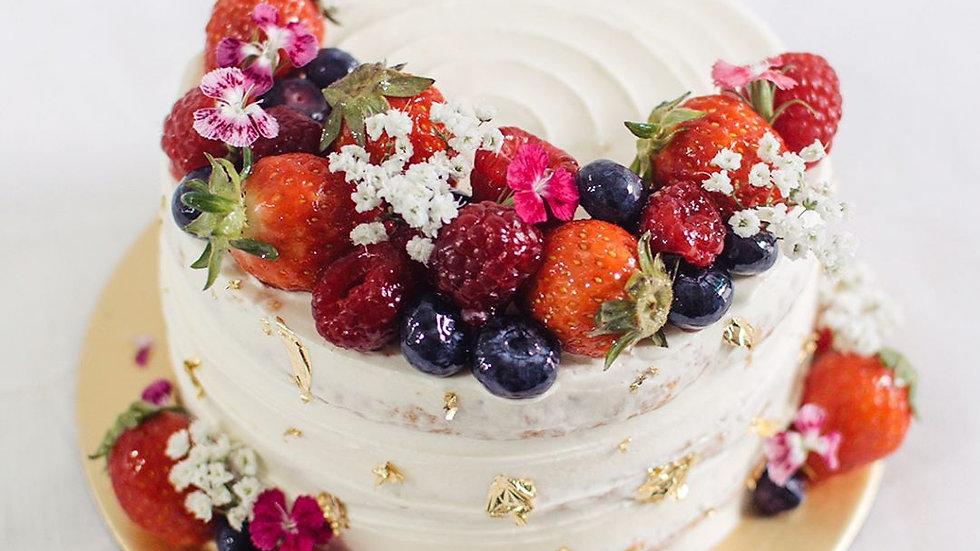 8 inch Celebration Sponge Cake