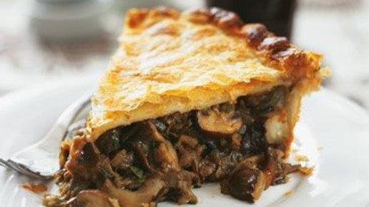4 Inch Mushroom Wellinton Pie with Crispy Crust x 2