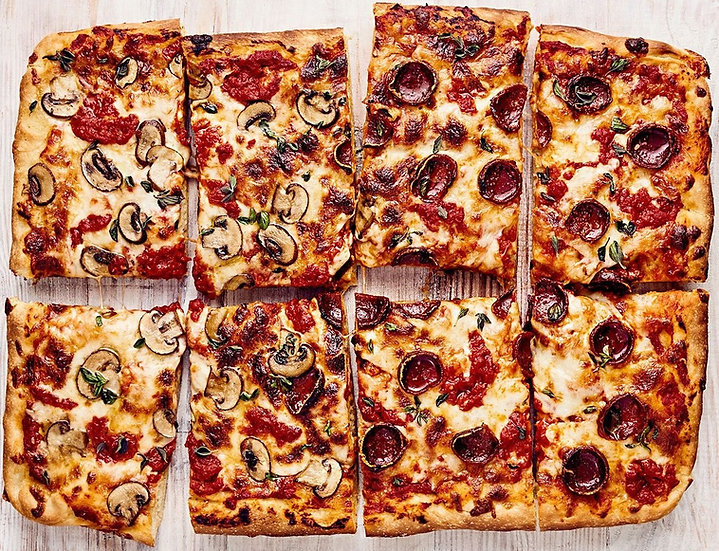 3 Course Family PIZZA Focaccia Feast for 4