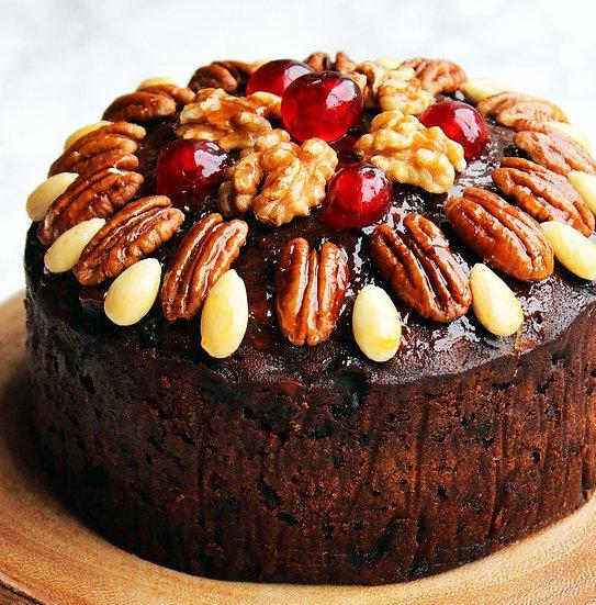6 Inch Round Rich Brandy Fruit Cake