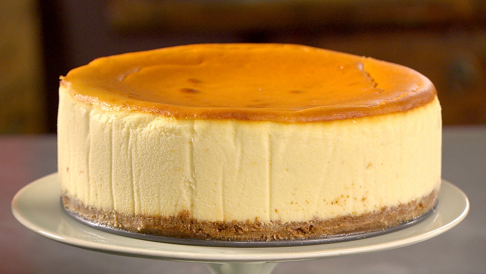 "9"" Baked New York Cheesecake - Classic Vanilla"