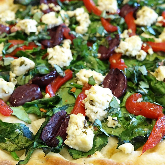 Vegan PIZZA - Santorini (10 Inch) Sourdough