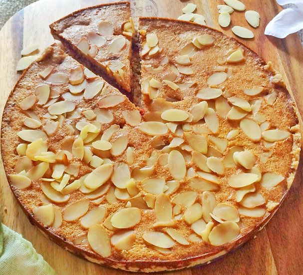 10 inch French Almond Tart