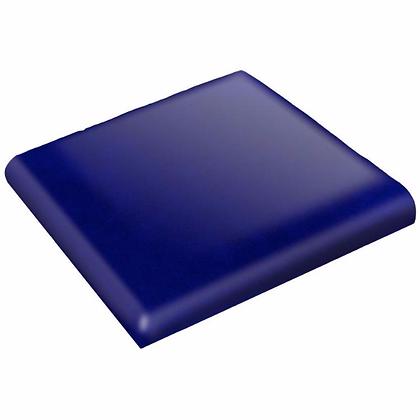 Brilliant Blue Talavera Double Bullnose