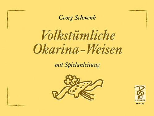 Volkstümliche Weisen mit Spielanleitung von Georg Schwenk