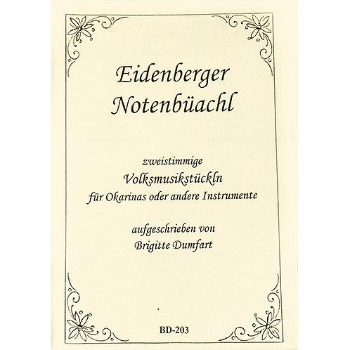 Eidenberger Notenbüachl BD- 202 von Brigitte Dumfart