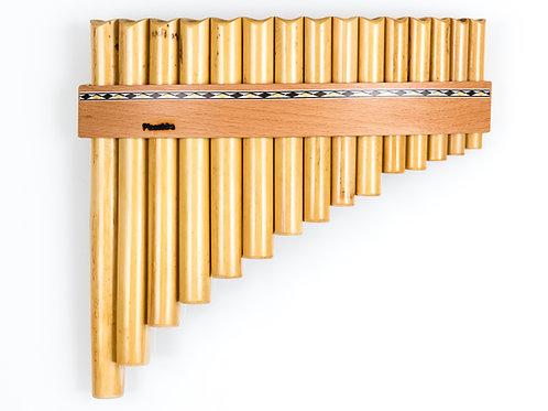 Panflöte R15-Töne/Rohre in C-Dur & G-Dur aus Bambus | Plaschke Instruments