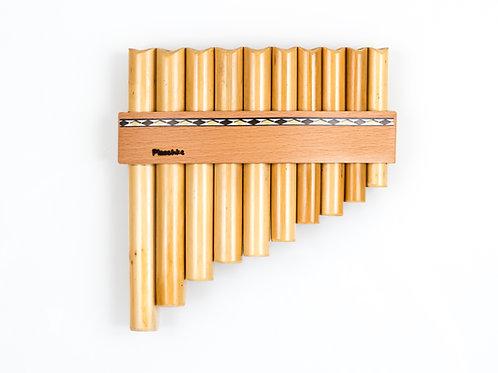 Panflöte R10-Töne/Rohre in C-Dur & G-Dur aus Bambus | Plaschke Instruments