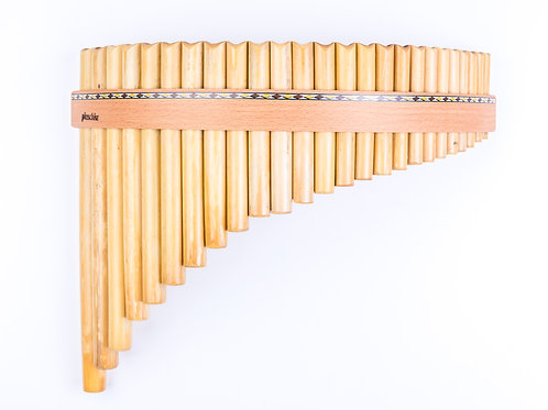 Panflöte R25-Töne/Rohre in C-Dur & G-Dur aus Bambus | Plaschke Instruments