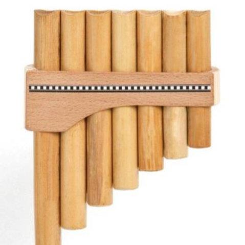 Panflöte R07-Töne/Rohre in C-Dur aus Bambus | Plaschke Instruments