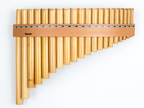 Panflöte R20-Töne/Rohre in C-Dur & G-Dur aus Bambus | Plaschke Instruments