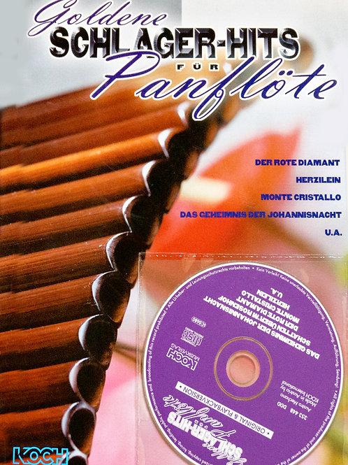 Goldene Schlagerhits für Panflöte mit CD