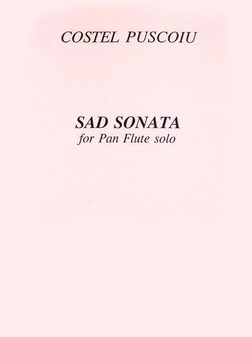Sad Sonata von Costel Puscoiu Panflute Solo