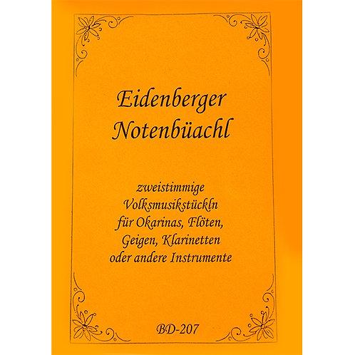 Eidenberger Notenbüachl Bd - 207 von Brigitte Dumfart
