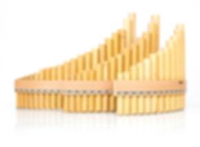 Panflöte, S-Serie, bambus, gelb, holz, natur, qualität, handgemacht, Holzschuh, Holzriemen, einfach, leicht, kaufen, lernen, günstig, hochwertig, Bambusflöte, Schilfflöte, Indianische Flöte, Blasinstrument, Indianer, Plaschke Instruments