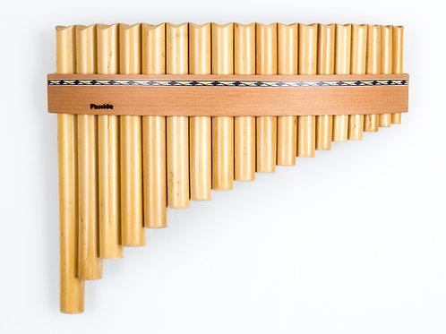 Panflöte R18-Töne/Rohre in C-Dur & G-Dur aus Bambus | Plaschke Instruments