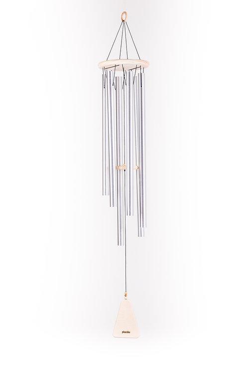 Windspiel / Klangspiel Nr.4 Similaun aus Holz und Alu-Rohre