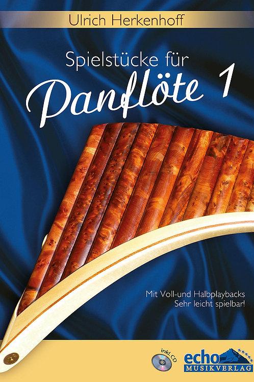 15 Spielstücke für Panflöte Teil 1 mit CD von Ulrich Herkenhoff