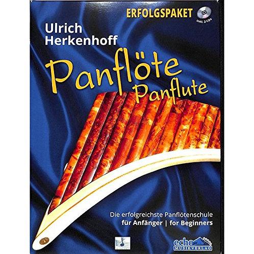 Panflöte Erfolgspaket mit CD, DVD, Lernbuch und Songbuch