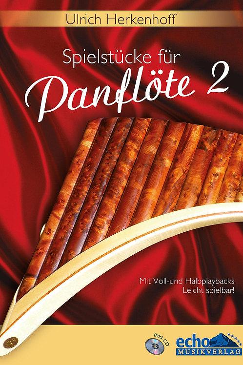 15 Spielstücke für Panflöte Teil 2 mit CD von Ulrich Herkenhoff