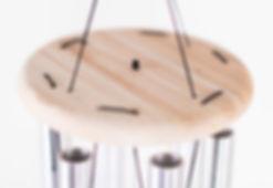 Windspiel, Windklangspiel, Klangspiel für Garten, Haus, Türklingel, ausen und innen, Holz, Aluminium-Rohre, Natur, handgemacht, tradition, für Joga und Meditation, klang, Musik, Musikbau, Musikinstrumentenbau, einfach, lernen, kaufen, günstig, Plaschke Instruments Meran, Algund, Südtirol, Italien