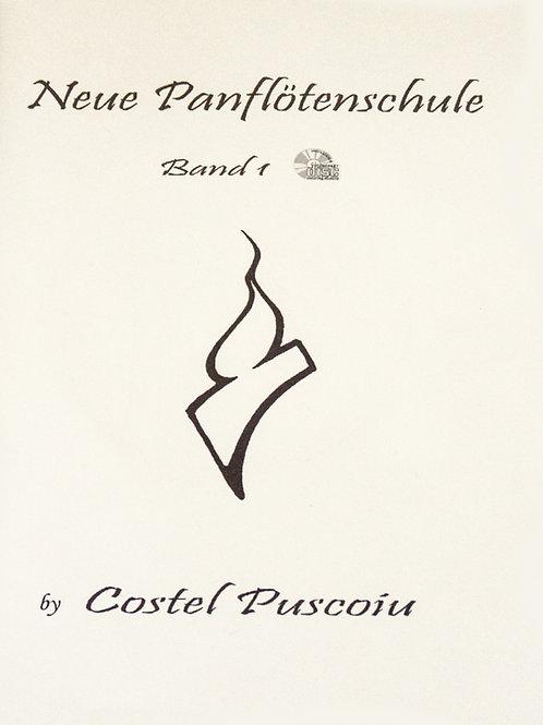 Neue Panflötenschule Band 1 mit CD/Soundcloud von Costel Puscoiu