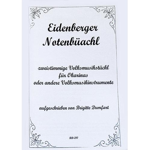Eidenberger Notenbüachl BD-210 from Brigitte Dumfart